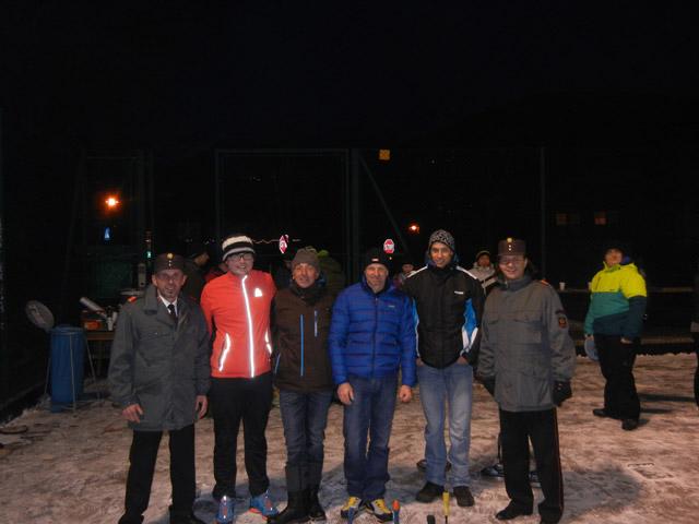 Unser Kommando mit der Mannschaft der Freiw. Feuerwehr Lavant