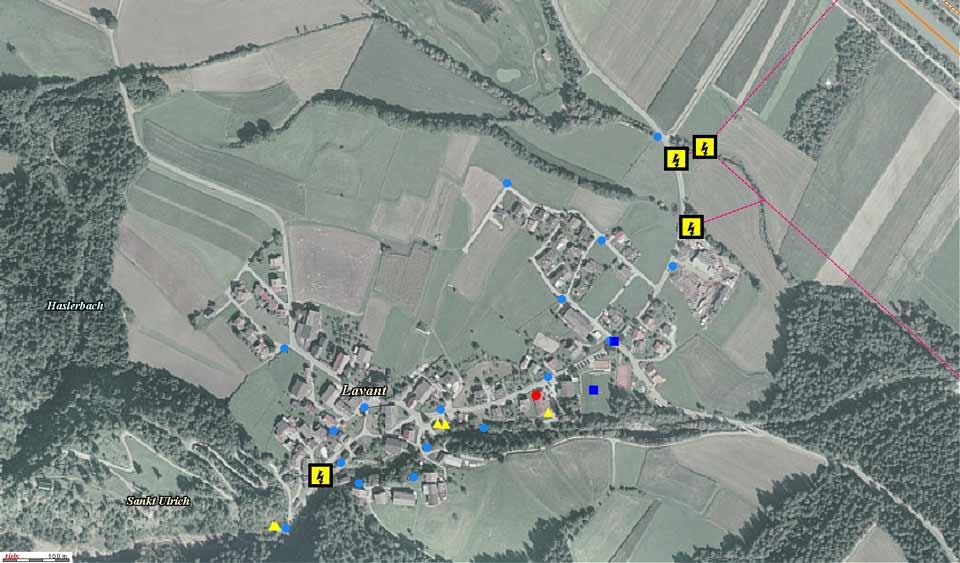 Das Einsatzgebiet Dorf