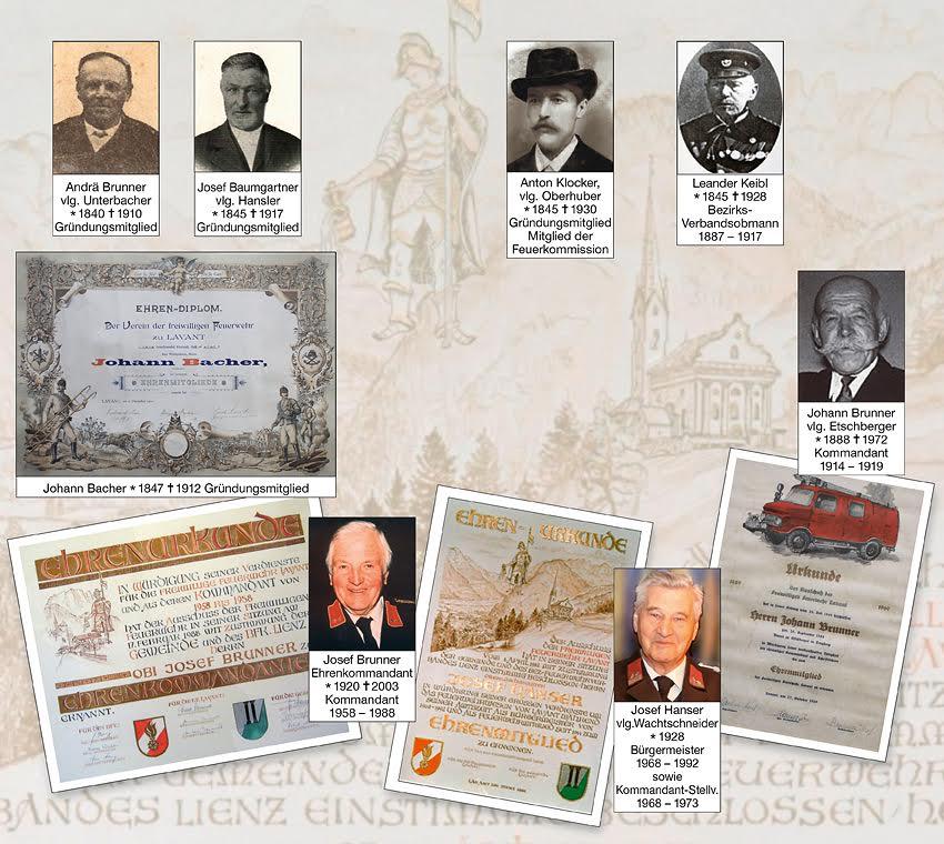 Ehrenmitglieder FW Lavant