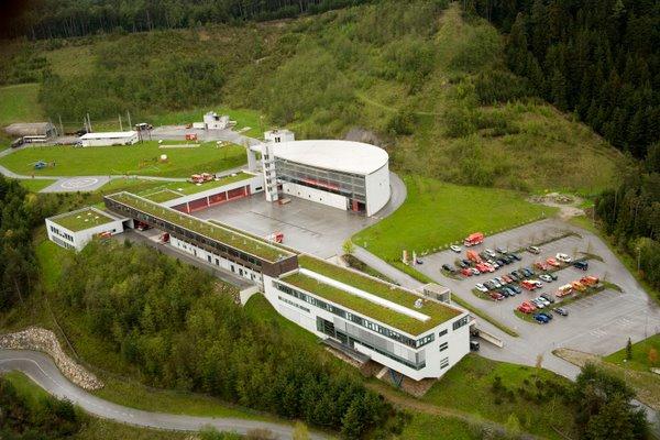 LFS Tirol aus der Vogelperspektive