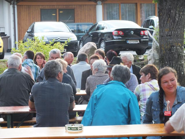 Zahlreiche Besucher kamen zum heurigen Dankeschönfestl