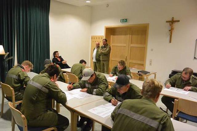 Erster Termin vom Wissenstest in Lavant am 16.10.2015 (Abnahme durch AFK ABI Harald Draxl zusammen mit Kameraden aus Tristach, Dölsach und Iselsberg-Stronach).